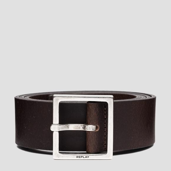 REPLAY smooth leather belt - Replay AM2616_000_A3076_115_1