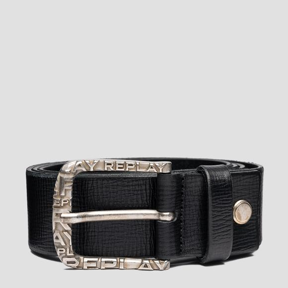 REPLAY belt in patterned leather - Replay AM2622_000_A3007F_098_1