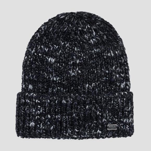 Beanie wool blend - Replay AM4214_000_A7024_098_1