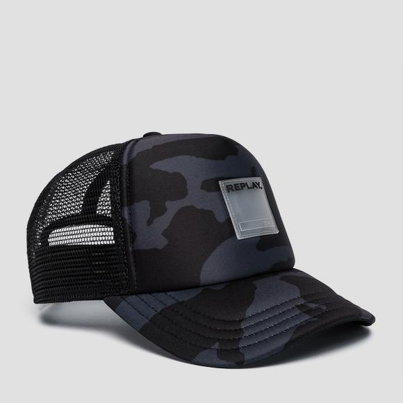 Camouflage baseball cap - Replay AM4220_000_A0321A_1324_1