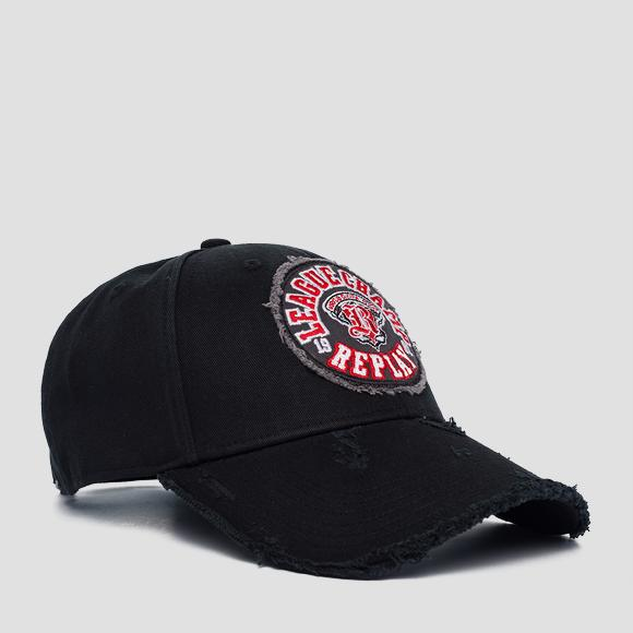 Cotton twill cap - Replay AM4231_000_A0113D_098_1