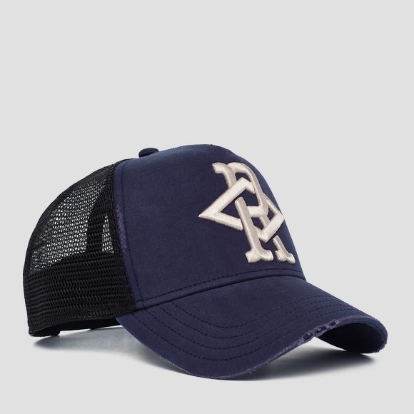 Embroidered REPLAY cap - Replay AM4235_000_A0387_500_1