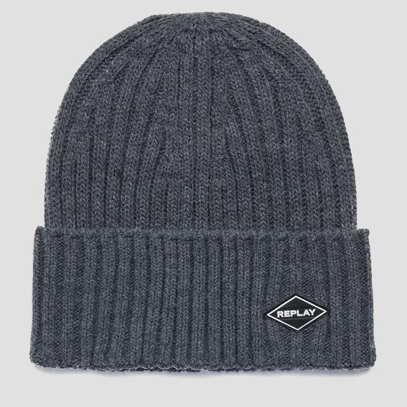 Ribbed REPLAY beanie AM4237_000_A7003_016_1