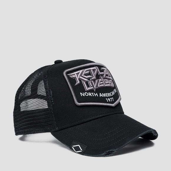 Cappellino con visiera REPLAY NORTH AMERICAN TOUR 1977 - Replay AM4251_000_A0406A_098_1