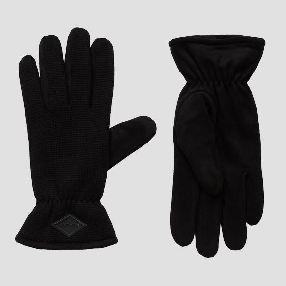 REPLAY knitted gloves - Replay AM6051_001_A0442_098_1