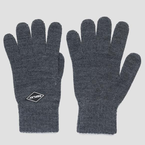 REPLAY knit gloves - Replay AM6054_000_A7003_016_1