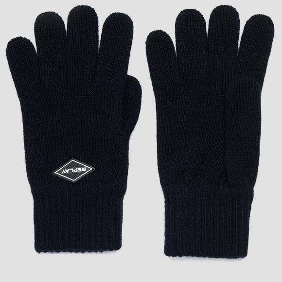 REPLAY knit gloves - Replay AM6054_000_A7003_499_1