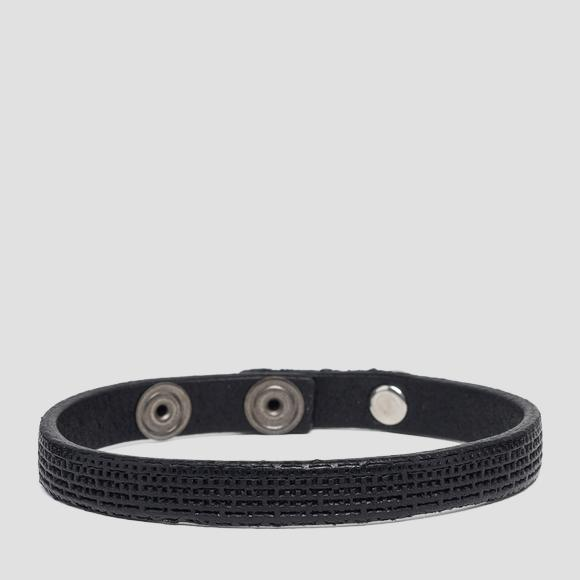 Vintage leather bracelet - Replay AM7046_000_A3077_098_1