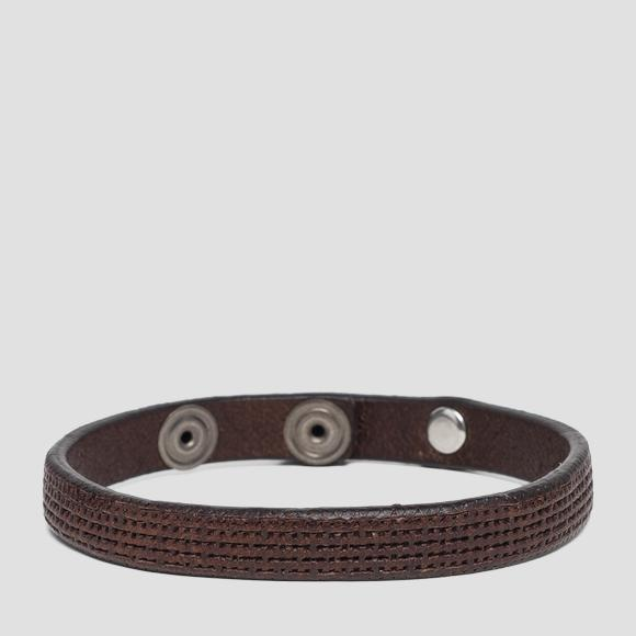 Vintage leather bracelet - Replay AM7046_000_A3077_117_1