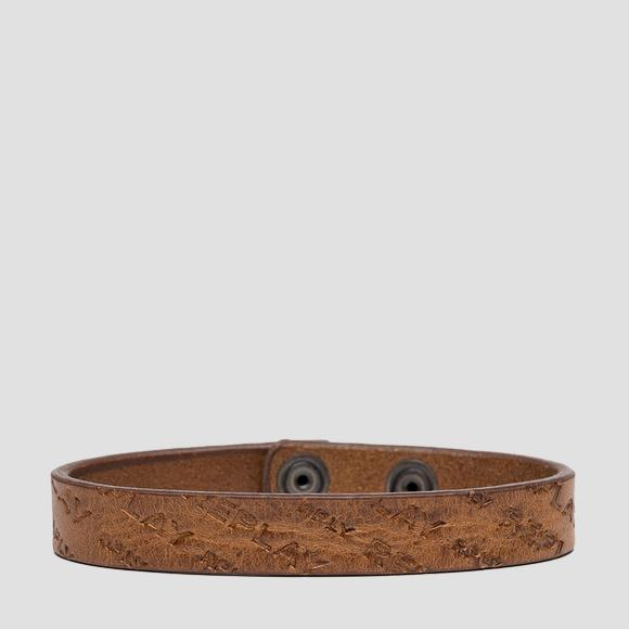 REPLAY leather bracelet - Replay AM7057_001_A3007_045_1