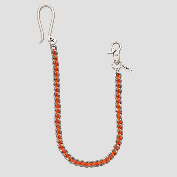 Jeans chain in contrasting-coloured cord - Replay AM7059_001_A6004_192_1