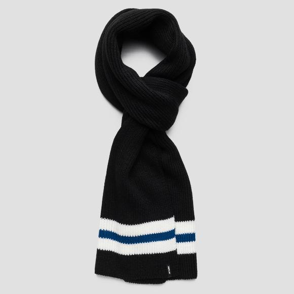 Scarf with contrasting stripe - Replay AM9211_000_A7003_1289_1