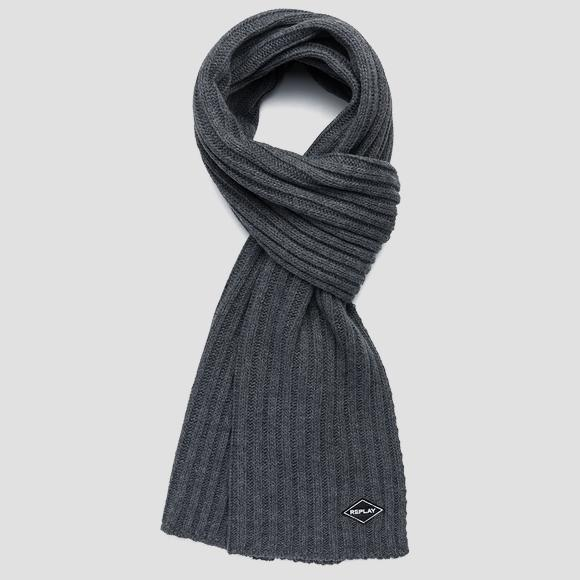 Ribbed knit scarf - Replay AM9220_000_A7003_016_1