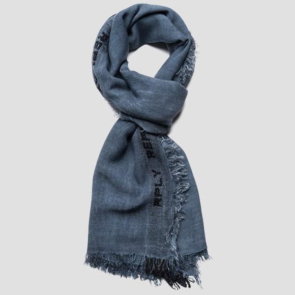 RPLY wool and viscose scarf - Replay AM9222_001_A0317B_520_1