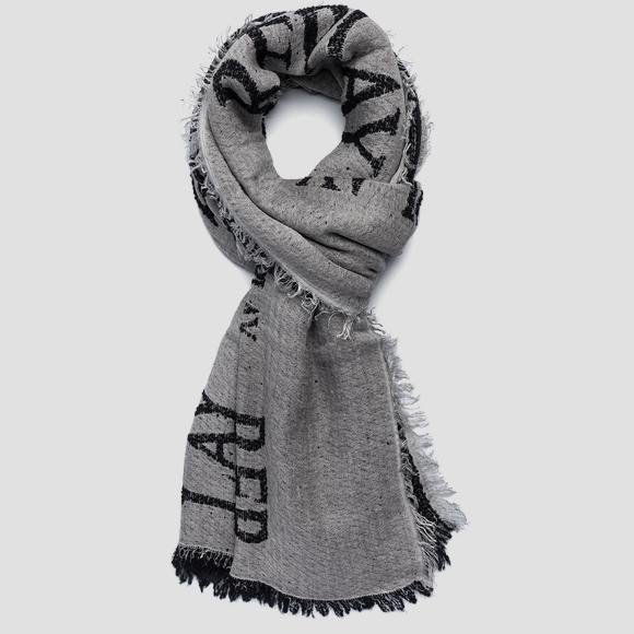 Scarf with REPLAY print AM9223_000_A0317B_020_1