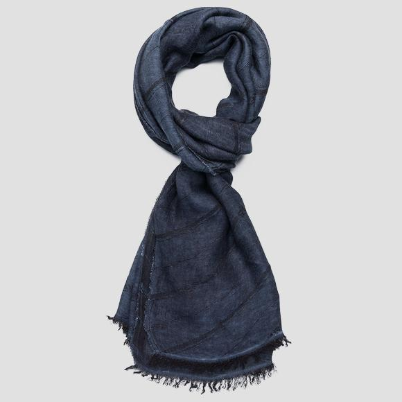 Striped REPLAY scarf - Replay AM9224_000_A0383A_500_1