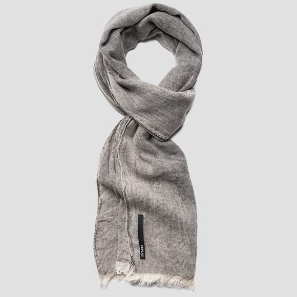 REPLAY viscose blend scarf - Replay AM9226_000_A0386G_299_1