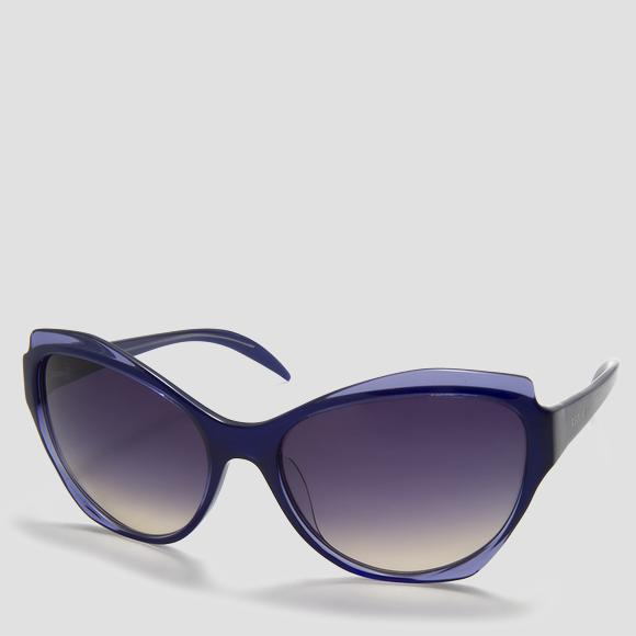 Women's acetate sunglasses - Replay AS541S_000_RY541S_004_1