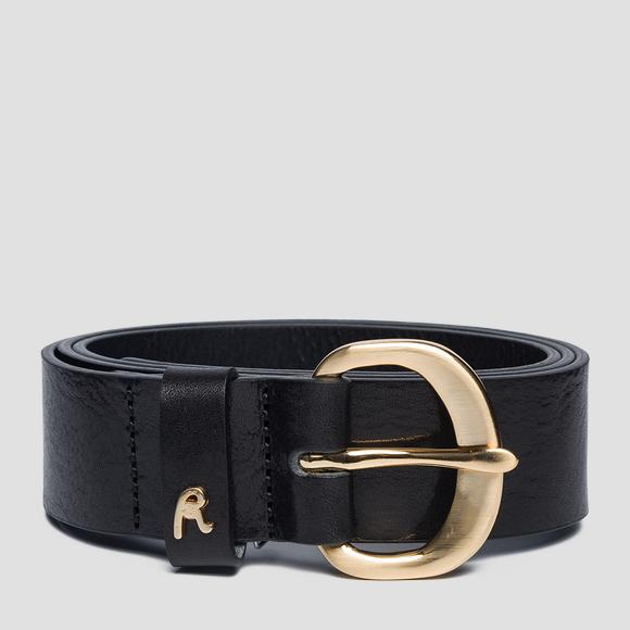 Vintage pull up belt - Replay AW2524_000_A3007_098_1