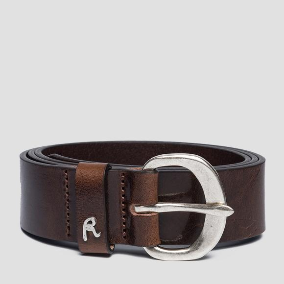 Vintage pull up belt - Replay AW2524_000_A3007_117_1