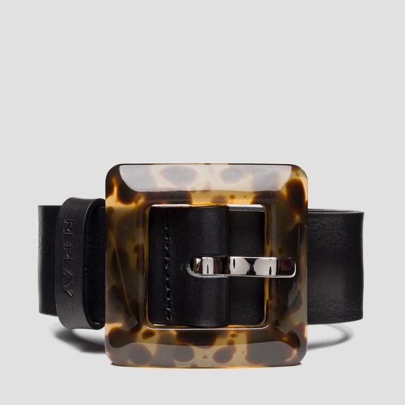Belt with maxi animalier buckle - Replay AW2541_000_A3007_098_1