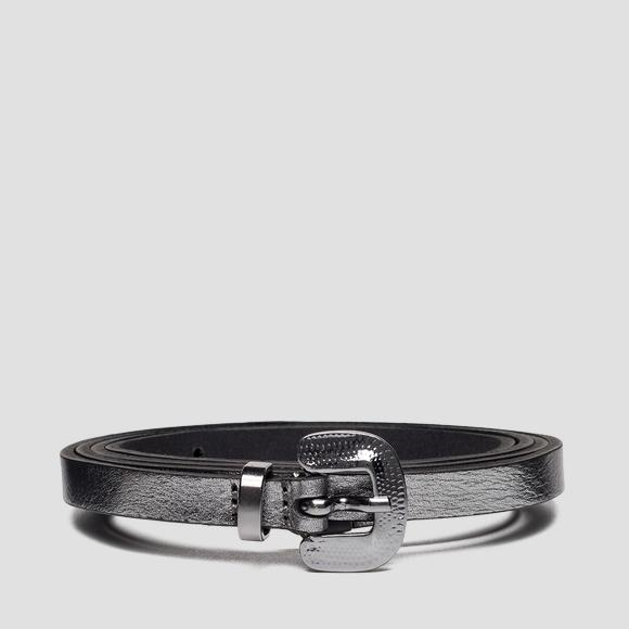 Thin leather belt AW2543_001_A3120C_096_1