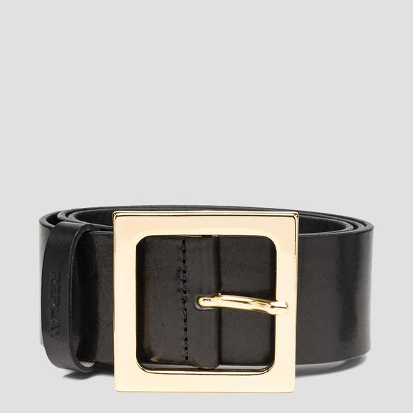 REPLAY belt with maxi buckle - Replay AW2554_000_A3007_098_1