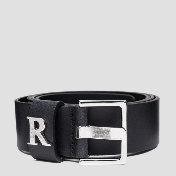 REPLAY belt in brushed leather - Replay AW2558_000_A3001_098_1