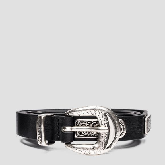 Thin belt with paisley pattern - Replay AW2561_000_A3007_098_1