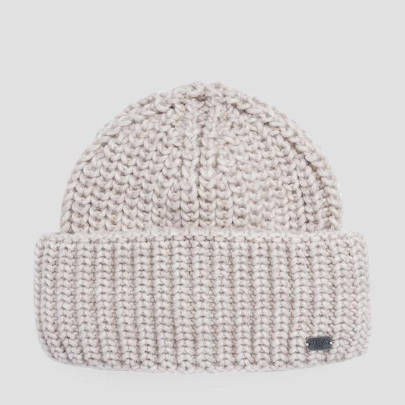 Beanie wool blend knit - Replay AW4225_000_A7039_054_1