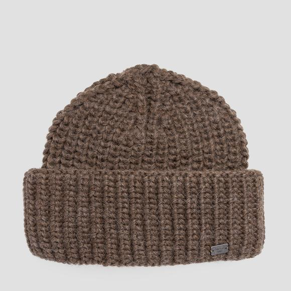 Beanie wool blend knit - Replay AW4225_000_A7039_126_1