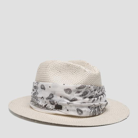 Wide-brimmed hat - Replay AW4236_000_A0012V_002_1