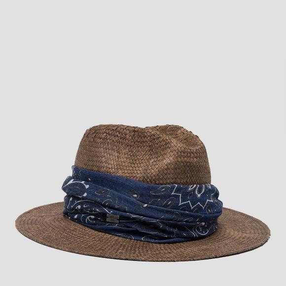 Wide-brimmed hat - Replay AW4236_000_A0012V_109_1