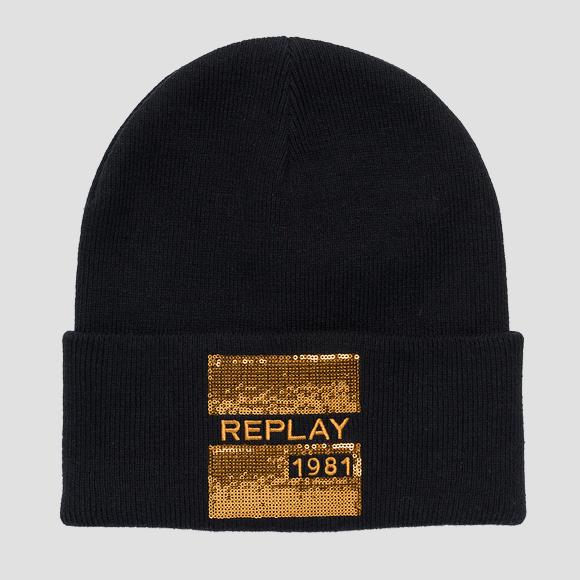 Beanie REPLAY 1981 - Replay AW4242_000_A7059_098_1