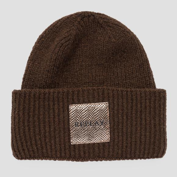 REPLAY beanie viscose and wool - Replay AW4245_000_A7092_115_1