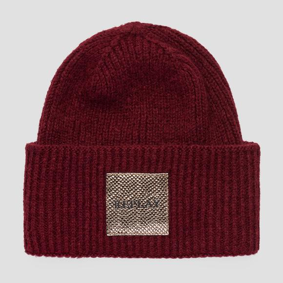 REPLAY beanie viscose and wool - Replay AW4245_000_A7092_271_1