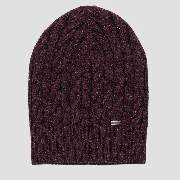 Wool and silk beanie REPLAY - Replay AW4251_000_A7098_253_1