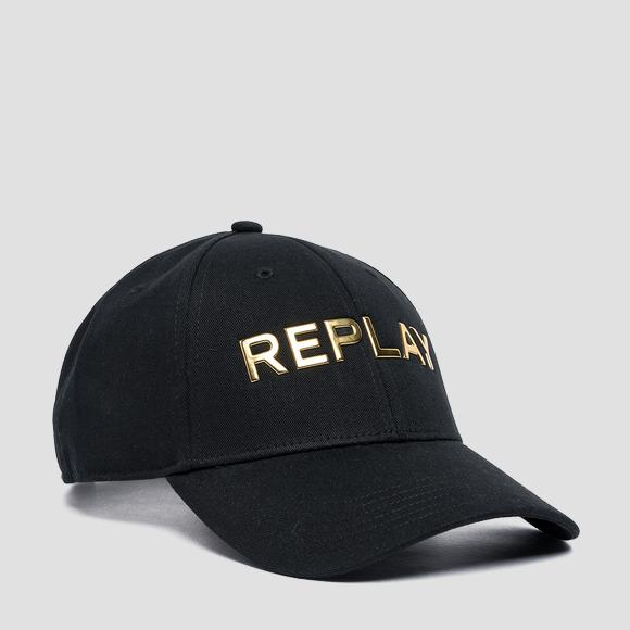 REPLAY cap with bill in cotton - Replay AW4256_000_A0113_098_1