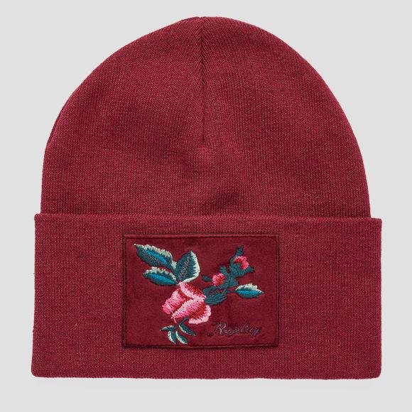 ROSE LABEL cotton beanie - Replay AW4258_001_A7059_271_1