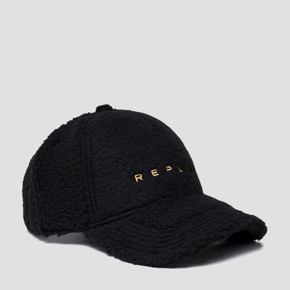 Pile borg cap with bill - Replay AW4267_000_A0208A_098_1