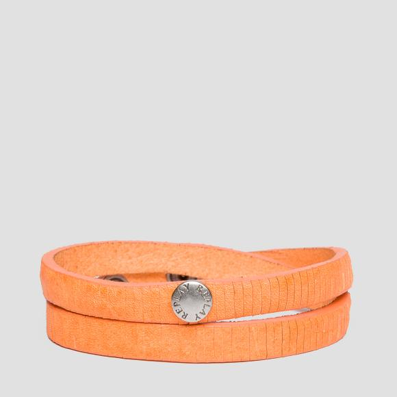 Double leather bracelet - Replay AW7158_000_A3114_210_1
