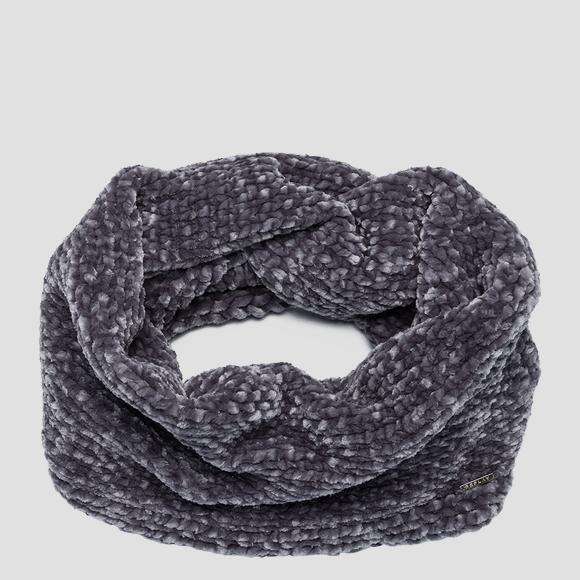Weaved knit scarf - Replay AW9266_000_A7093_010_1