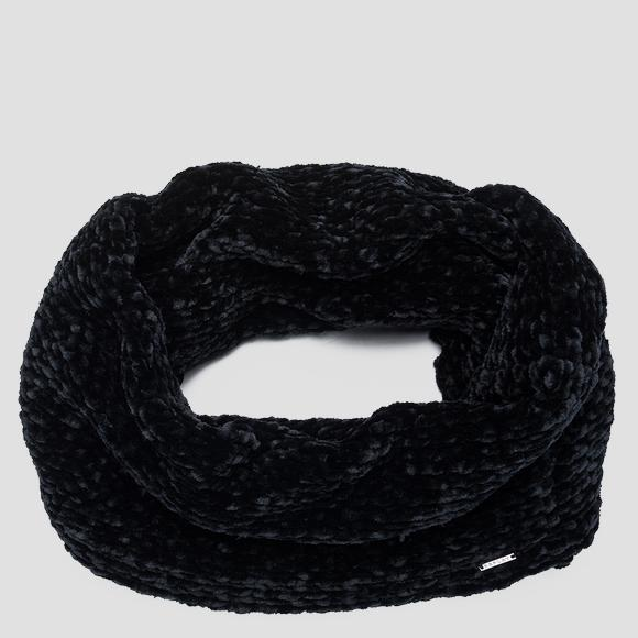 Weaved knit scarf - Replay AW9266_000_A7093_098_1
