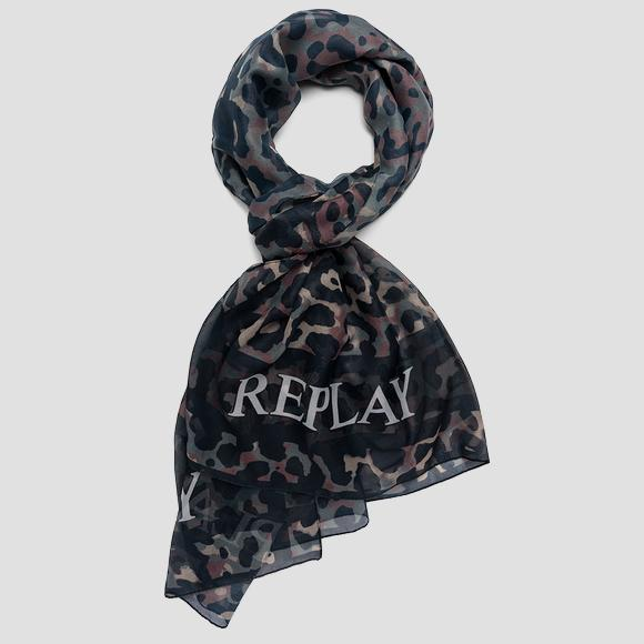 Animalier scarf - Replay AW9281_000_A0187H_1431_1