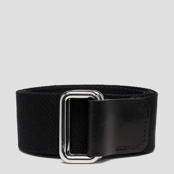 Fabric belt with sliding buckle - Replay AX2261_000_A0374_098_1