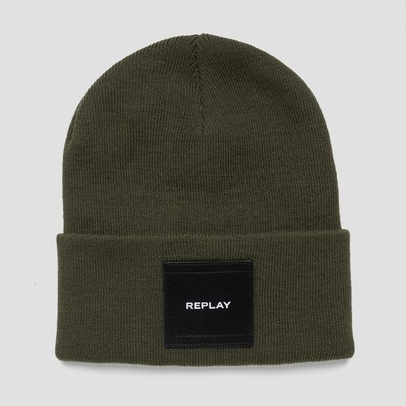 Beanie knit effect - Replay AX4167_000_A7003_057_1