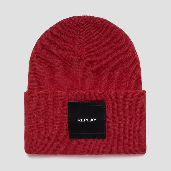Beanie knit effect - Replay AX4167_000_A7003_260_1
