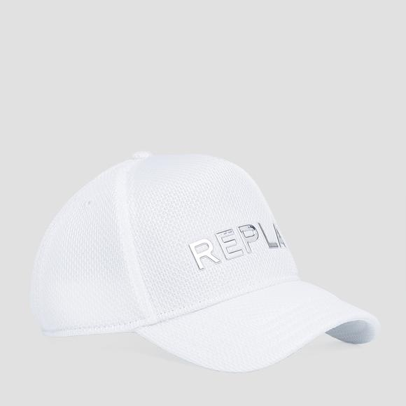 Cap with mesh - Replay AX4285_000_A0269_001_1