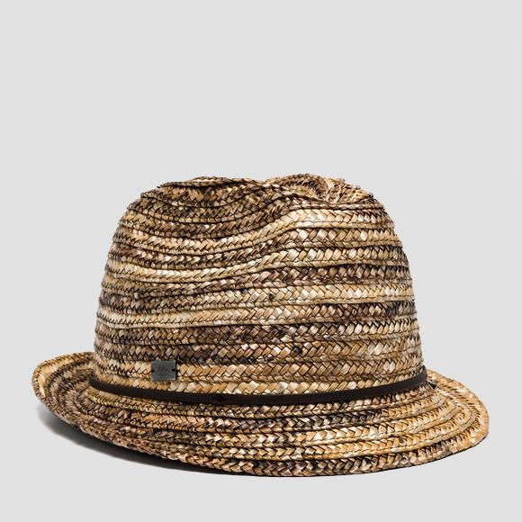 Weaved fedora hat - Replay AX4288_000_A0036A_420_1