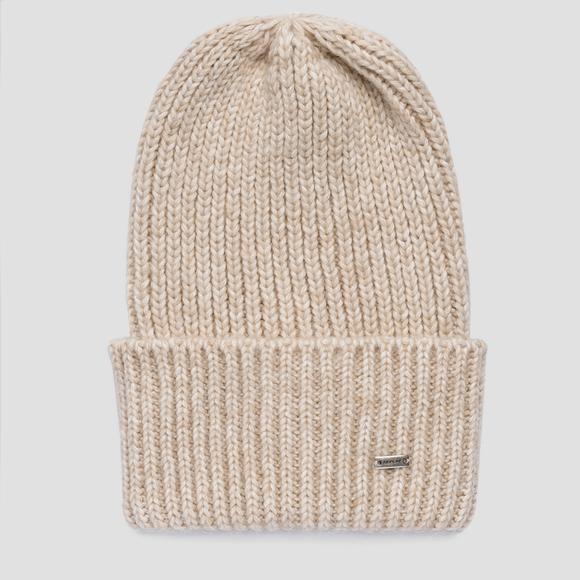 Ribbed beanie REPLAY - Replay AX4294_000_A7094_041_1